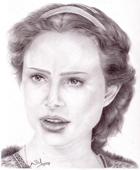 Natalie Portman by 3alilou